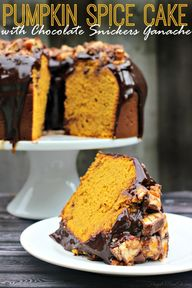 Pumpkin Spice Cake w