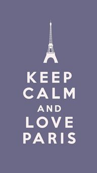 Keep calm and love P