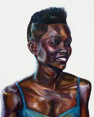 Lupita Nyong'o paint
