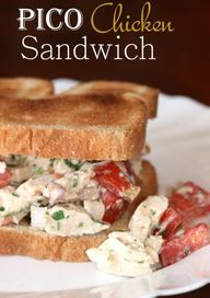 Pico Chicken Sandwic