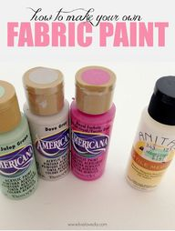Fabric Painting Proj