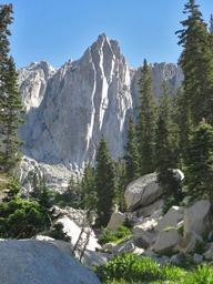 Lone Peak cirque - a