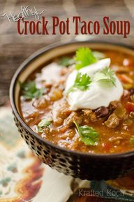 Healthy Crock Pot Ta