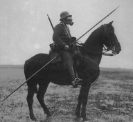 WW1 German on Horse