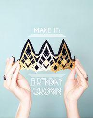 make it: glittering