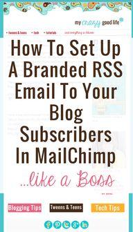 MailChimp branded e-