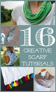 16 Creative Scarf Tu
