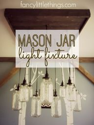 Mason Jar Light Fixt