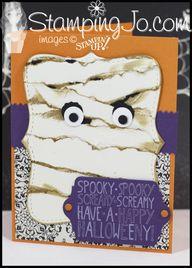 Haloween Mummy Card