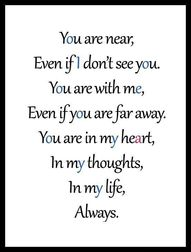 Missing you . We all