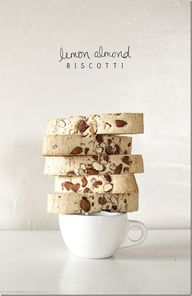 Lemon Almond Biscott