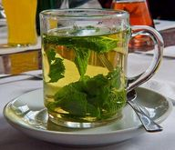 Peppermint tea is kn