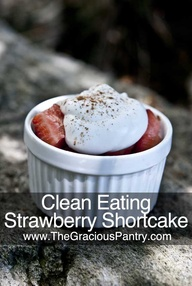 Clean Eating Strawbe