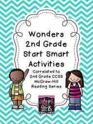 Wonders 2nd Grade St