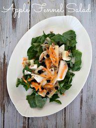 Apple Fennel Salad w