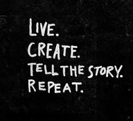 Live. Create. Tell T