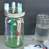 Mason Jar Toothbrush