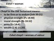 Eshet Chayil - Bibli...