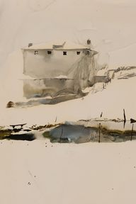 Andrew Wyeth, 'Farm
