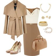 """Autumn - Work Outfit"" by anna-bella-b on Polyvore"