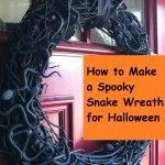 Spooky Snake Wreath