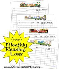 free printable month