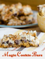 Magic Cookie Bars to