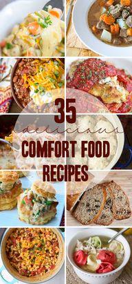 35 Comfort Food Reci