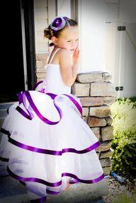 Flower girl. White w