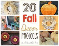 20 Fall Decor Projec