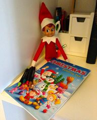 #ElfontheShelf Day 4