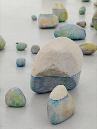 color wash rocks - w