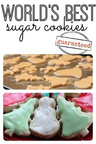 Make sugar cookies w