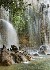 Waterfall in Nice -