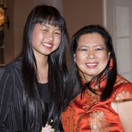 Natasha Nieckoaki & mother Irene Leung, Vice City Director of Sarasota's relationship with Xiamen, China at the Sister Cities of Sarasota One  World Gala at the Sarasota Bay Club on March 13, 2013. Photo by Rod Millington, Sarasota Herald Tribune