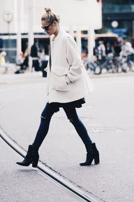 white coat for fall