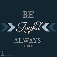 Be Joyful (1 Thessal