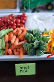 Healthy tractor food