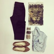 Always Wild. Outfit