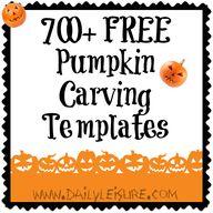 FREE Pumpkin Carving