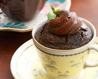Chocolate Tea Cup Ca