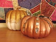 DIY Pumpkin Decor Tu