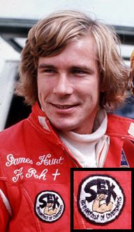 James Hunt's legenda