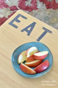 TV Tray Makeover and