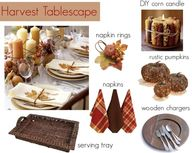 Harvest Tablescape #