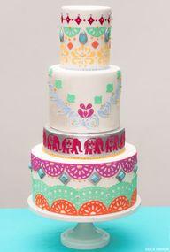 Boho Chic Cake | tra