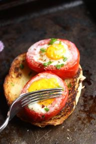 Baked Tomato and Egg...