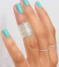 Thin Knuckle Rings ♥
