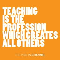 """Teaching is the pro"