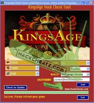KingsAge Hack Cheat...